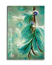 "Wisdom of the Angels - angel art magnet, Visionary communicator, ""inner Child"", ""eliminate stress"""