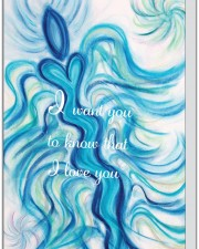 Wisdom of the Angels -angel art card, Hospice, illness, love, greeting cards, death, dying