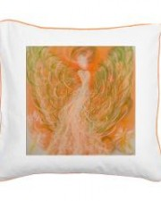Wisdom of the Angels - pillow abundance, Angel Gifts, Angelic Art, angels, Art, attraction, believe, desires, emotions, healing art, inspiration, manifestation, New age gifts, raising vibrational frequency, spirituality, Visionary Art
