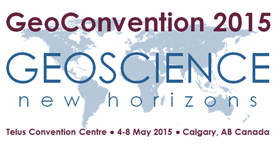 GeoConvention 2015: FIVE Presentations!