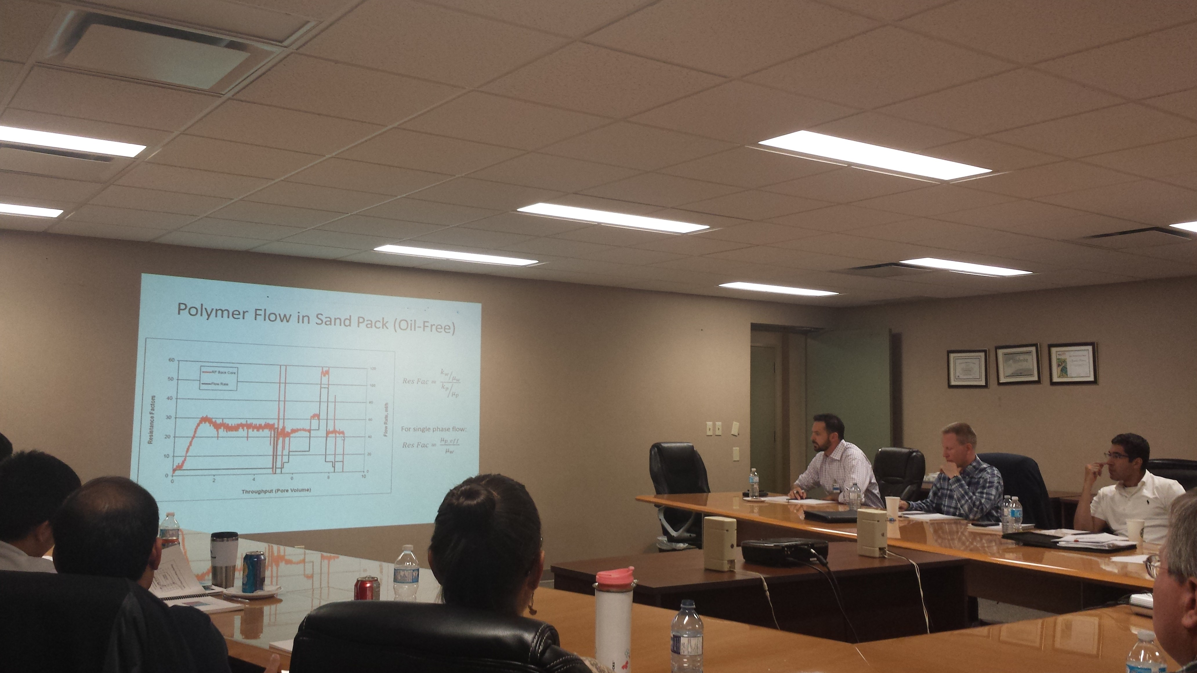 A picture from the EOR course in Calgary, Alberta.