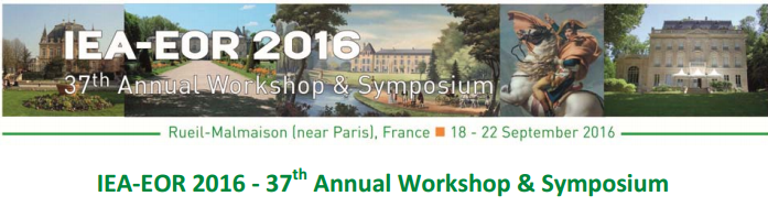 Presenting in France at IEA-EOR 2016 Conference on CSS in Heavy Oil