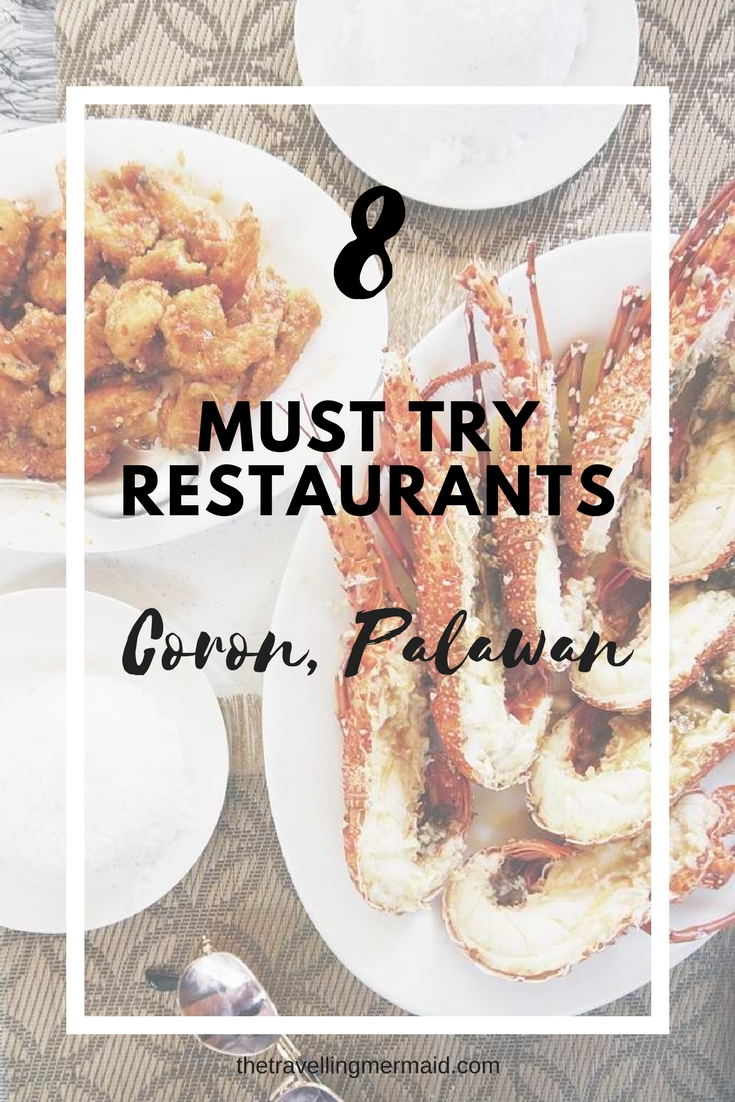 must try restaurants in coron palawan