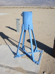 """Large Inverted: 10-1/4"""" ID, 52-3/4"""" Tall, 19-1/4"""" Tube Length"""
