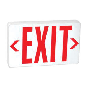 LED Exit Sign Part Number 61001