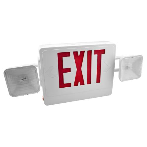 LED Combo Exit Sign (Remote Capability) Part Number 61101