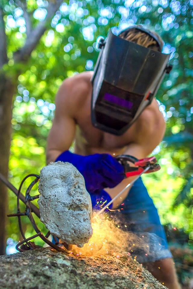 Welding on Fight for the Last of Life