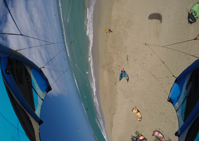 gokite-gallery kite gopro shots of kite Beach Cabarete