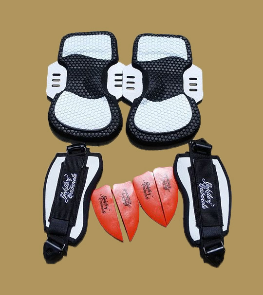 Kiteboarding Footstrap Set and Components