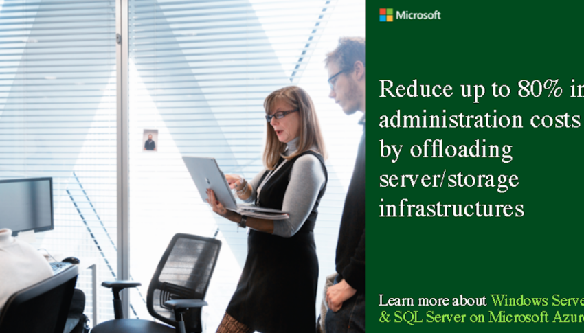 Social Asset B: Reduce up to 80% in administration costs by offloading server/storage infrastructures