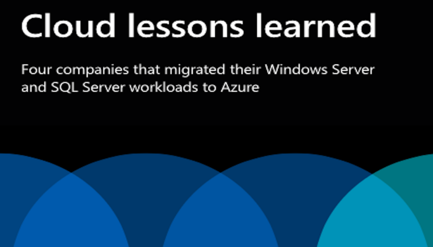 Cloud lessons learned