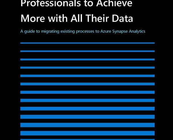 Empower IT and data professionals to achieve more with all theirdata