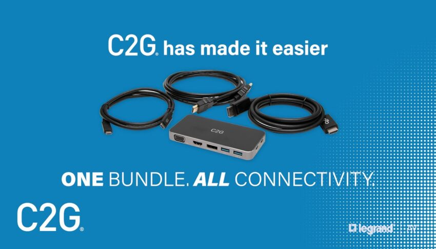 C2G Docking Station Kits – One Bundle. All Connectivity