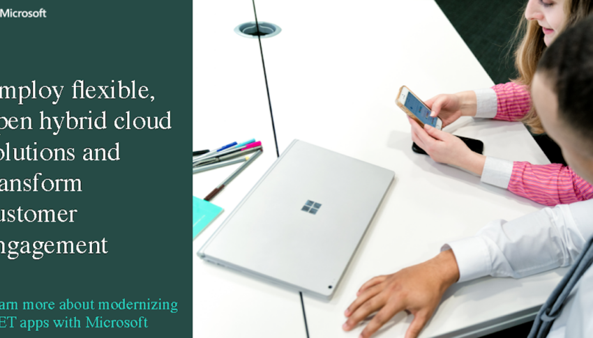 Employ flexible, open hybrid cloud solutions and transform customer engagement ​