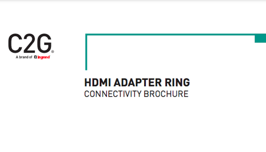 HDMI Adapter Ring Connectivity Brochure