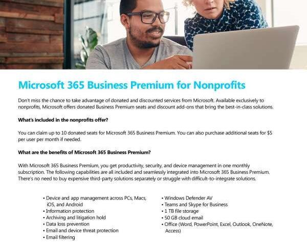 Microsoft 365 Business Premium Offer