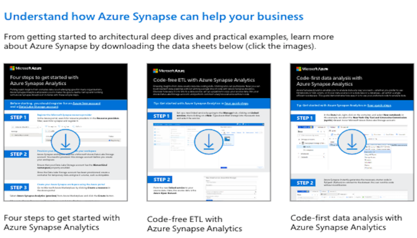 Toolkit: Get started uncovering critical insights with Azure Synapse Analytics