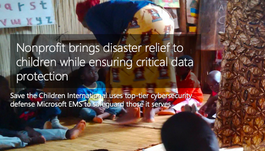 Nonprofit brings disaster relief to children while ensuring critical data protection