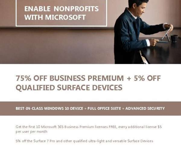 Enable Nonprofits with Microsoft