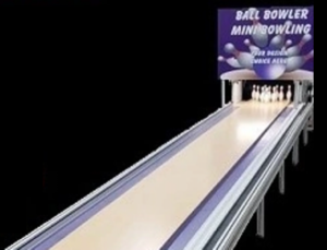Ball Bowler Mini Bowling Lanes and Pinsetters Why Ball