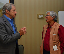 Dr. Camp (left) and Dr. Akhtar (right)