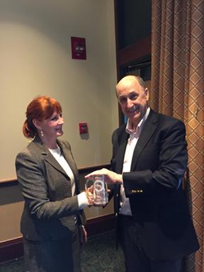 Dr. Glenn Gabbard receives honorary membership in the Virginia Psychoanalytic Society