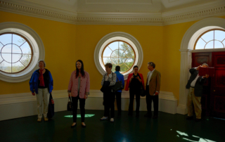 Group on third floor, Monticello