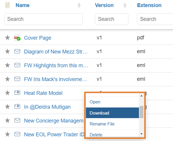 netDocShare enables to download any NetDocuments Content within SharePoint