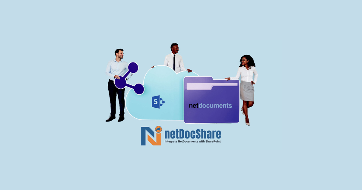 Seamless Integration of NetDocuments with SharePoint