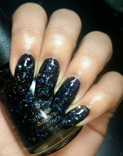 China Glaze Cheers Collection Coal Hands Warm Heart