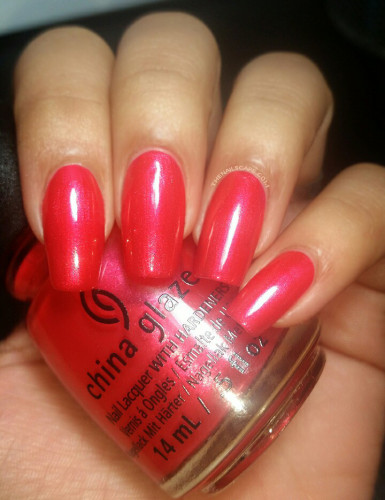 China Glaze Cheers Collection Son of a Nutcracker