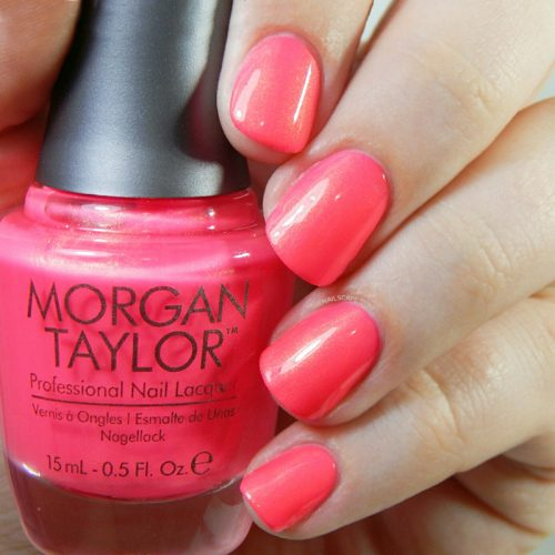 MORGAN TAYLOR STREET BEAT COLLECTION SWATCHES