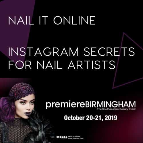 The Nailscape Premiere Birmingham Alabama social media class