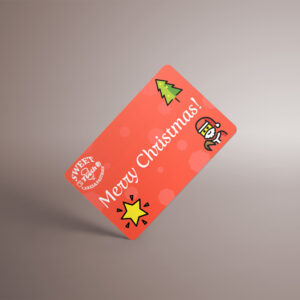 Merry Christmas  – Sweet Tooth eGift Card