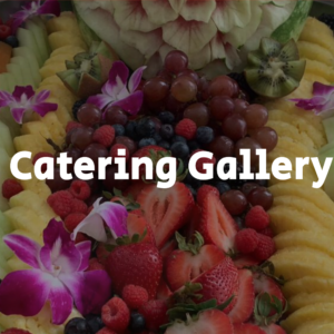 Catered Food Platter Estimate