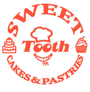 sweet tooth cakes & pastries logo in color