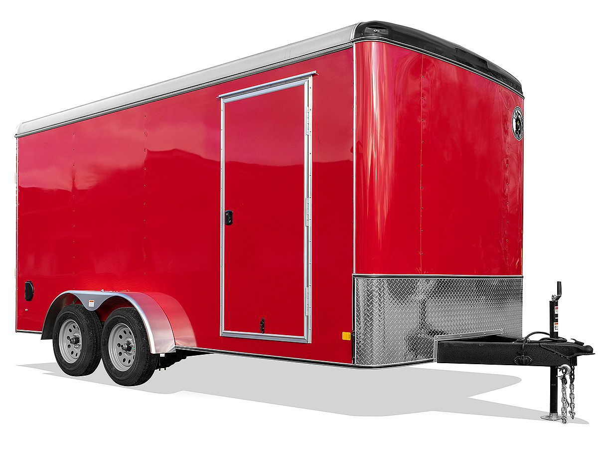Red 8.5' x 20' Trailer