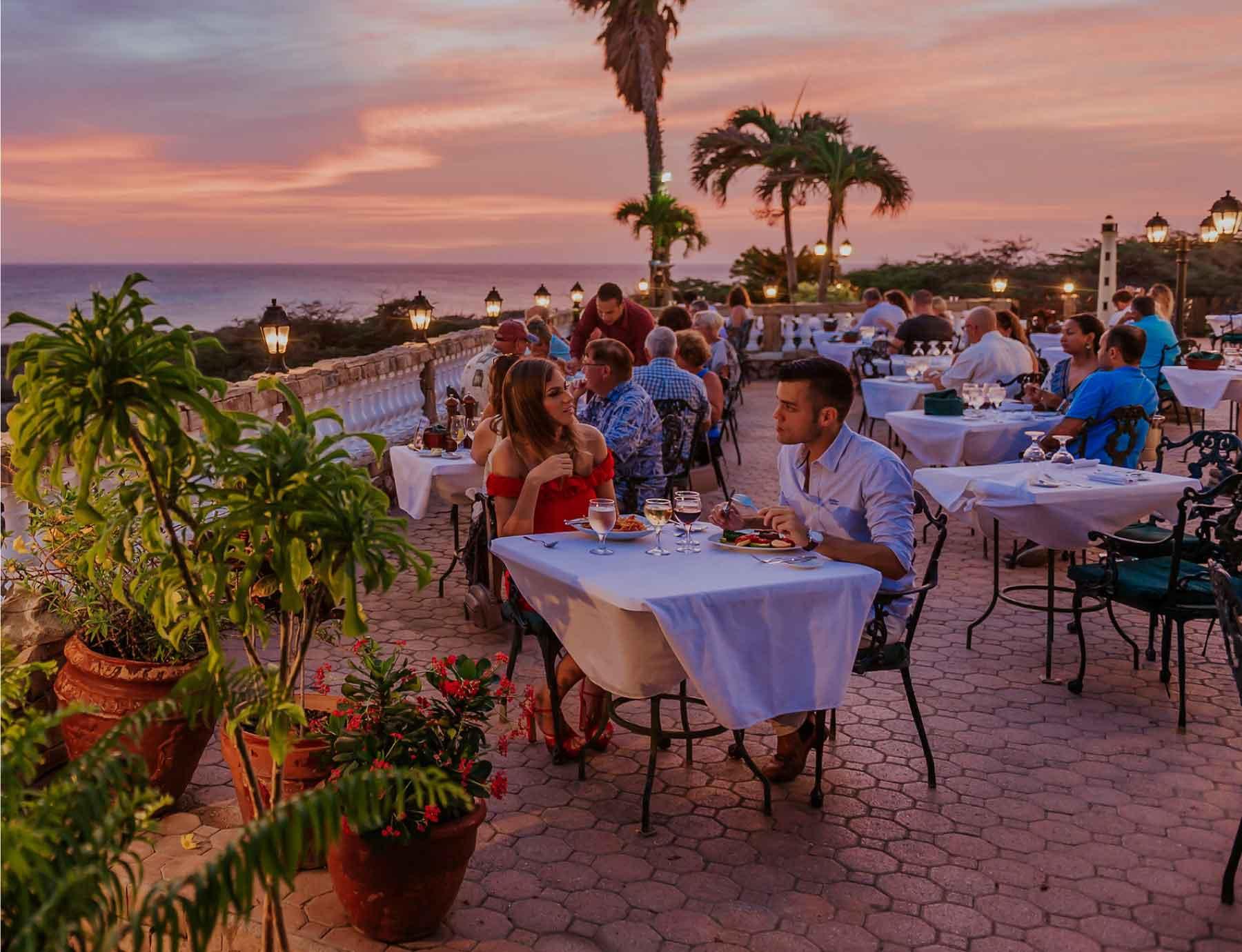 Faro Blanco Restaurant Italian Restaurant Aruba The