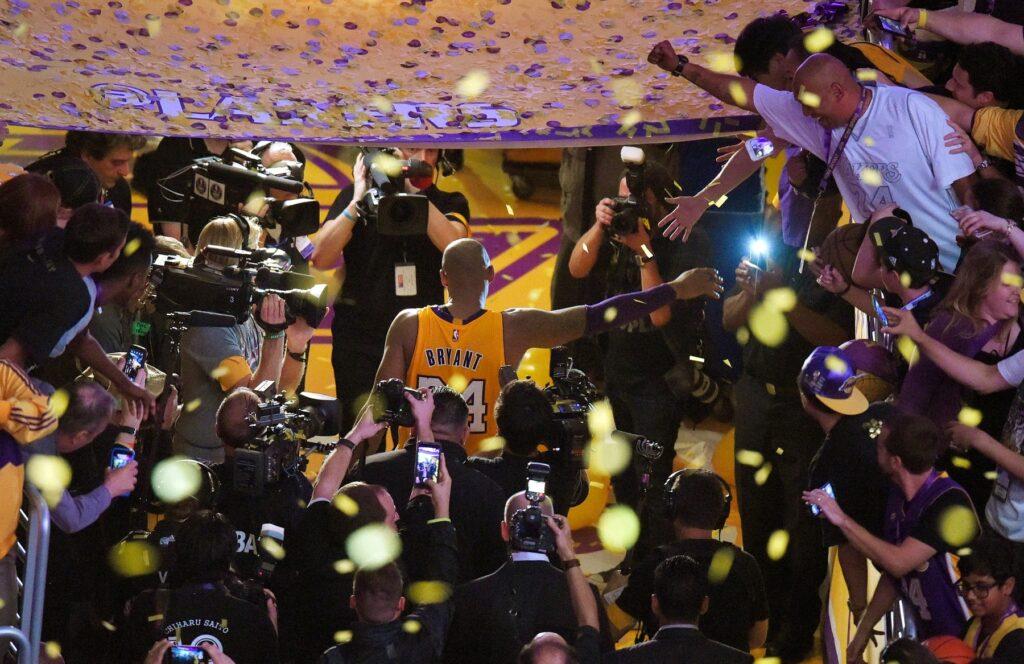 Kobe Bryant despedida