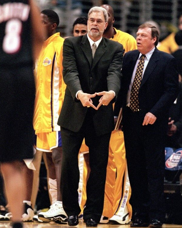 Phil Jackson en Lakers