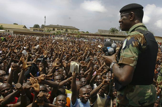 Fuerzas opositoras a el gobierno de Costa de Marfil