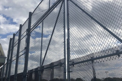 Chain link fence industrial