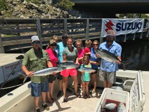 goddess charters family fishing picture