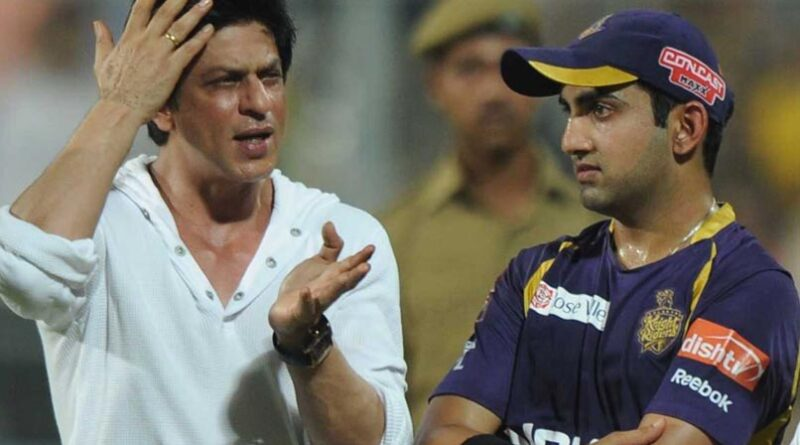 Shah Rukh Khan had told him after replacing Sourav Ganguly