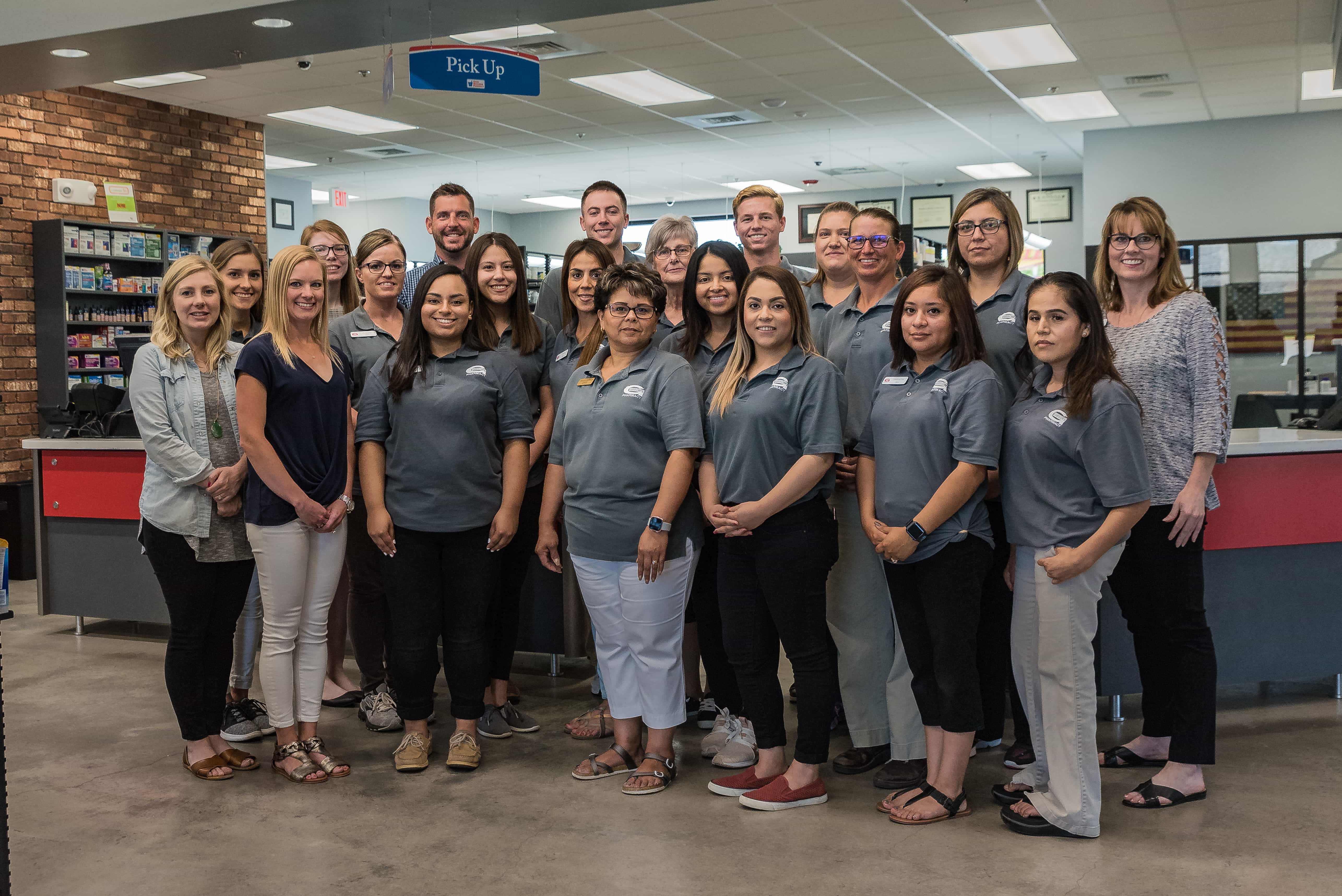 Gibson's Pharmacy Dodge City Kanasas Staff Workers