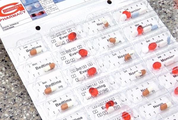 Gibson's Pharmacy Dodge City Kanasas Medicine Package Prescription