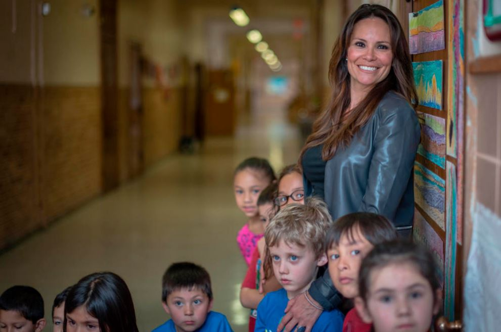 New Mexico Teacher Brings Heart to the Classroom