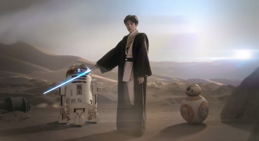 New Jedi Master? Chinese Pop Star LuHan Featured In Star Wars Promos For China