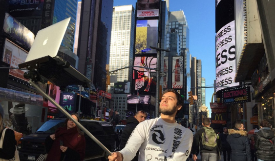 It's a Selfie World, We're Just Living in It