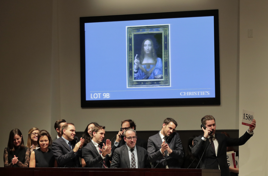 That $450.3 Million Painting Sold Yesterday at Auction for a Record Sum May Not Be an Authentic Da Vinci